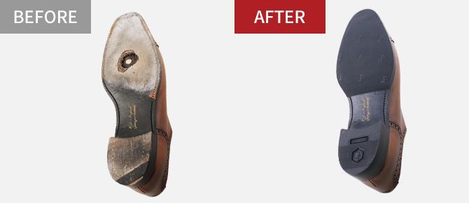 靴の修理(お店で修理)